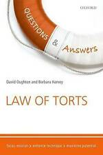 Questions & Answers Law of Torts: Law Revision and Study Guide by David...