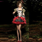 Queen of Hearts costume adult Alice In Wonderland cosplay Sexy Book Party dress