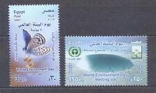 EGYPT 2007, Butterflies, set of 2, MNH**(52)