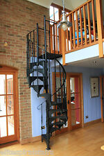 Cast Iron Spiral Stair 1067mm dia, Staircases & Balcony, Also Castiron Balconies