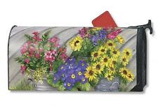 BLOSSOM BUCKETS mailbox cover - attaches with magnets - MADE IN USA