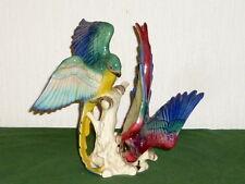 Alte Cortendorf Figur Vogelfigur Papagei Kea Wellensittich ? Vögel Vogel Keramik