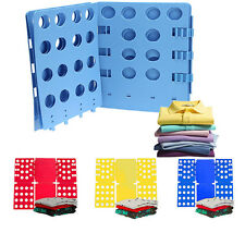 Clothes T-Shirt Top Folder Magic Folding Board Flip Fold Adult Laundry Organizer