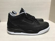 AIR JORDAN 3 III RETRO CUSTOM BLACK CAT CYBER MONDAY NEW DS 10.5