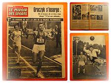 Miroir des Sports 875 du 25/9/1961-Jazy remporte le 1.500 mètres devant Simpson