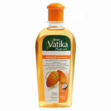 Dabur Vatika Naturals Almond Enriched Hair Oil | For Softness and Shine | 200ml