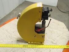 Custom Bench Mount Hydraulic Punch Press For Aluminum 21 Ga x .759 Dia Holes