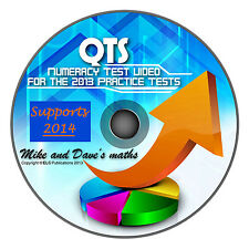 QTS numeracy skills test: video answers to all 4 practice tests 2014