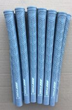 13 BRAND NEW GREY Pure DTX MIDSIZE Golf Grips with Closeout Butt Cap