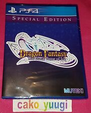 DRAGON FANTASY THE BLACK TOME OF ICE SONY PS4 VERSION US LIMITED RUN #18 NEUF
