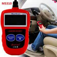 MS310 OBD2 OBDII EOBD Scanner Car Code Reader Data Tester Scan Diagnostic Tool