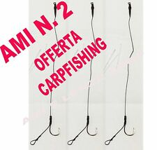 KIT 3 AMI LEGATI N° 2 CARP FISHING FINALI PRONTI CARP FISHING BOILES CARPA