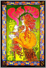 Pink Floyd Marquee Club Poster Mad Hatter's Tea Party Signed by Bob Masse