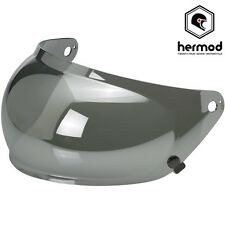 Biltwell Gringo S Bubble Motorcycle Helmet Visor - Silver Chrome Mirror Iridium