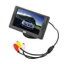 4.3 inch TFT LCD Car Monitor Reverse Rearview Color Camera DVD VCR CCTV BY