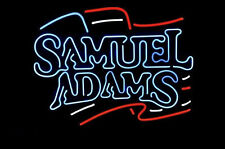 "New Sam Samuel Adams Boston Lager Pub Neon Light Sign 17""x16"" [High Quality]"