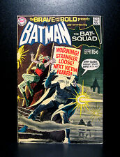 COMICS: DC: Brave and the Bold #92 (1970), 1st Bat-Squad app/Batman - RARE