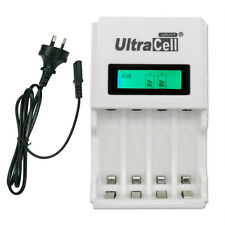 AA AAA NIMH NI-CD Quick LCD Display Rechargeab?le battery charger AU Ultracell+