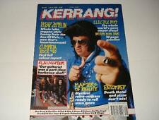 KERRANG! 299 MASTERS OF REALITY ELECTRIC BOYS ENTOMBED SLAUGHTER DREAD ZEPPELIN
