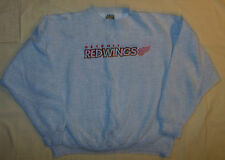 Vintage 90's NHL Detroit Red Wings Sweatshirt Gray L Mens By Tultex Sweater