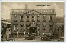The Mansion House Dublin Ireland 1910s postcard