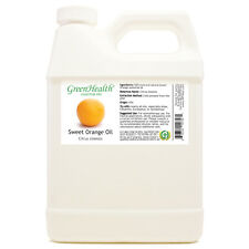 32 fl oz Orange Sweet Essential Oil (100% Pure & Natural) Plastic Jug