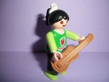Playmobil         City/House/School - Musical Instrument - Girl &Guitar - NEW