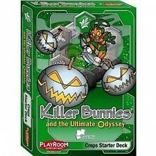 Killer Bunnies & The Ultimate Odyssey: Crops Starter Deck - Brand New Card Game