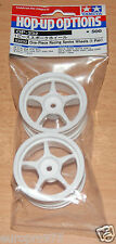Tamiya 53232 One-Piece Racing Spoke Wheels (1 Pair) (TA02/TA03/TT01/TA04S), NIP