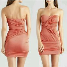 GUESS BY MARCIANO Orange Mitra Tube Dress size S