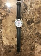 Vintage Rare USA Olympics Watch - Black Leather Band - Rio - Free Shipping