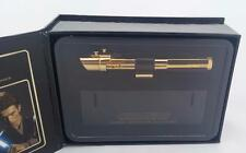 EPISODE 2 AOTC .45 SCALE GOLD CHASE ANAKIN SKYWALKER MINI LIGHTSABER MR NEW MIB