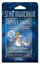 Star Munchkin Space Ships Add On - Steve Jackson - 15 Stellar Cards for Munchkin