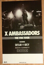 Music Poster Promo X Ambassadors ~ VHS - Version. 2 Double Sided