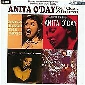 Anita O'Day - Four Classic Albums (Anita Sings The Most/The Lady Is A Tramp) etc
