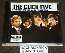 THE CLICK FIVE - MODERN MINDS AND PASTIMES -12 TRACK CD-