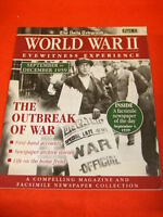 THE DAILY TELEGRAPH - WORLD WAR II #1 - THE OUTBREAK OF WAR