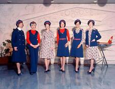Photo. 1975. New Zealand. Various Airline Hostess Uniforms
