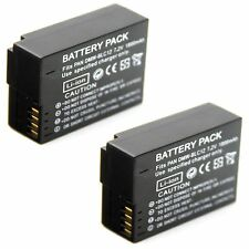 2x 7.2v 1800mAh Li-ion Battery for DMW-BLC12 Panasonic Lumix DMC-FZ200 Camera
