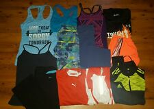 Huge Lot Women's Gym Workout Clothes Nike Adidas UA Puma ~Size S~ 13 pc