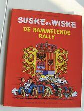 Suske en Wiske de Rammelende Rally met rode omslag 1998