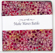 "Moda FABRIC Charm Pack ~ MAKE WAVES BATIKS ~ 40 - 5"" squares"