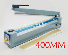Impulse Heat Sealer 400mm Plastic PP PE Bag Sealing Machine Element + Teflon