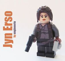 LEGO STAR WARS Custom Rogue One mini figure Jyn Erso 75155