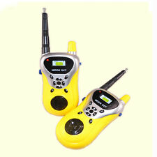 2Pcs Mini talkie-walkie enfants Jouets électroniques Portable Two-Way Radio Set