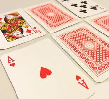 "3 Full Decks of mini miniature 2"" small tiny poker game Playing Cards FREE SHIP!"