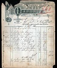 """TOULOUSE (31) PAPIERS PEINTS de Luxe & TENTURES """"DURAND / LAPORTE"""" en 1889"""