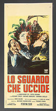 LOCANDINA, LO SGUARDO CHE UCCIDE The Gorgon LEE, CUSHING, HORROR HAMMER POSTER
