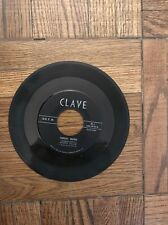 "VERY RARE! RAMON VELOZ Y SUS GUITARRAS 1950s Cuban 45 rpm Private Label ""CLAVE"""