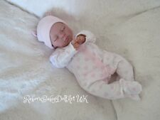Reborn Baby GIRL Doll sleeping ... RebornBabyDollART UK